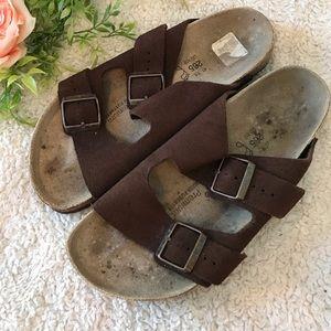 Men's Birkenstock 2 strap sandal